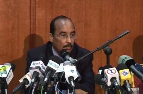 Article : Conférence de presse du président mauritanien : Du déjà vu !
