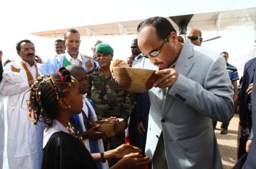 Article : Mauritanie : Le président reprend son bâton de pèlerin