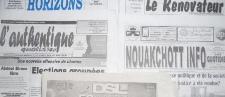 Article : Etats Généraux de la presse mauritanienne : un échec programmé !